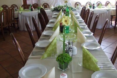 Dekoracja stołu weselnego - 100 400x267