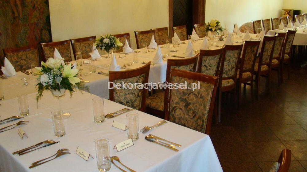 Dekoracja stołu weselnego - 101
