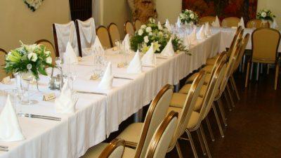 Dekoracja stołu weselnego - 103 400x225