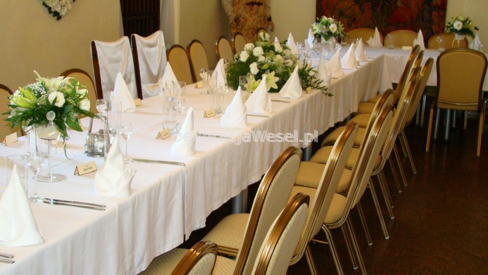 Dekoracja stołu weselnego - 103