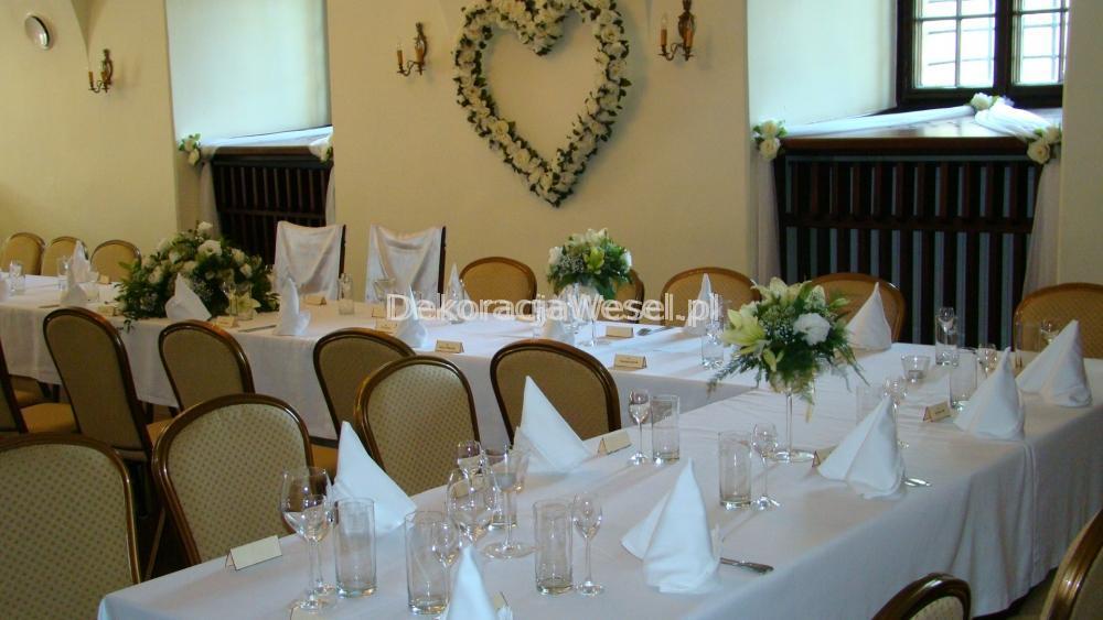 Dekoracja stołu weselnego - 104