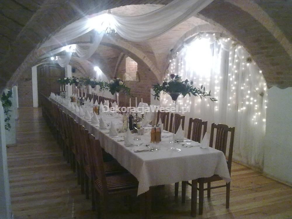 Dekoracja stołu weselnego - 105