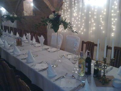 Dekoracja stołu weselnego - 106 400x300