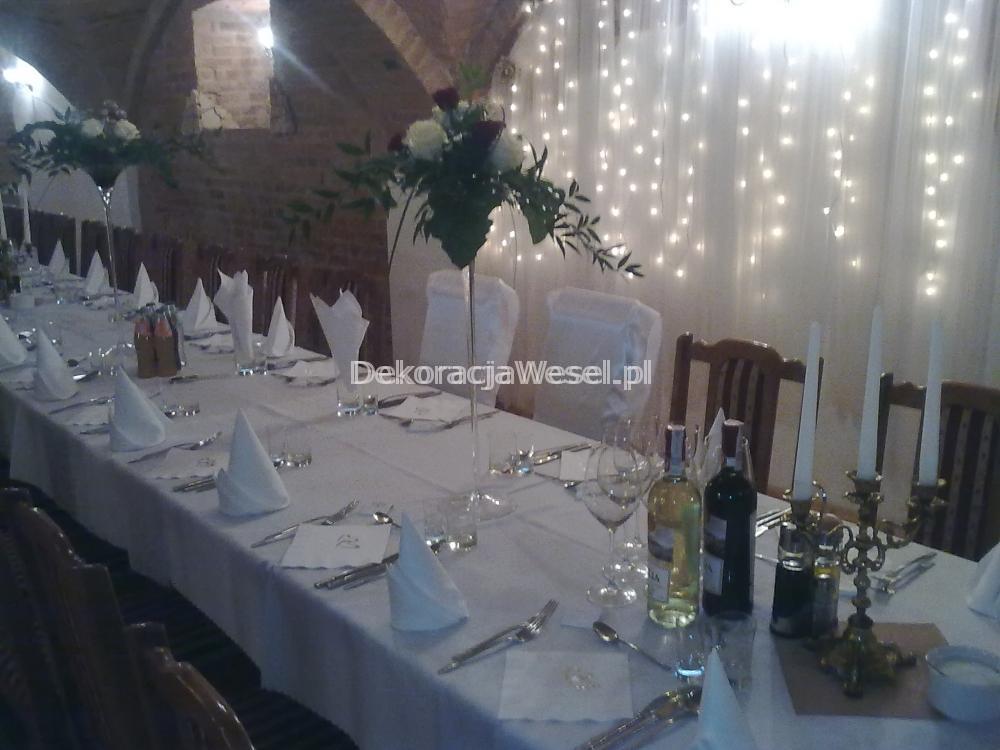 Dekoracja stołu weselnego - 106