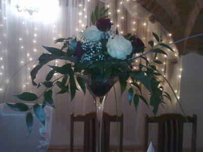 Dekoracja stołu weselnego - 107 400x300