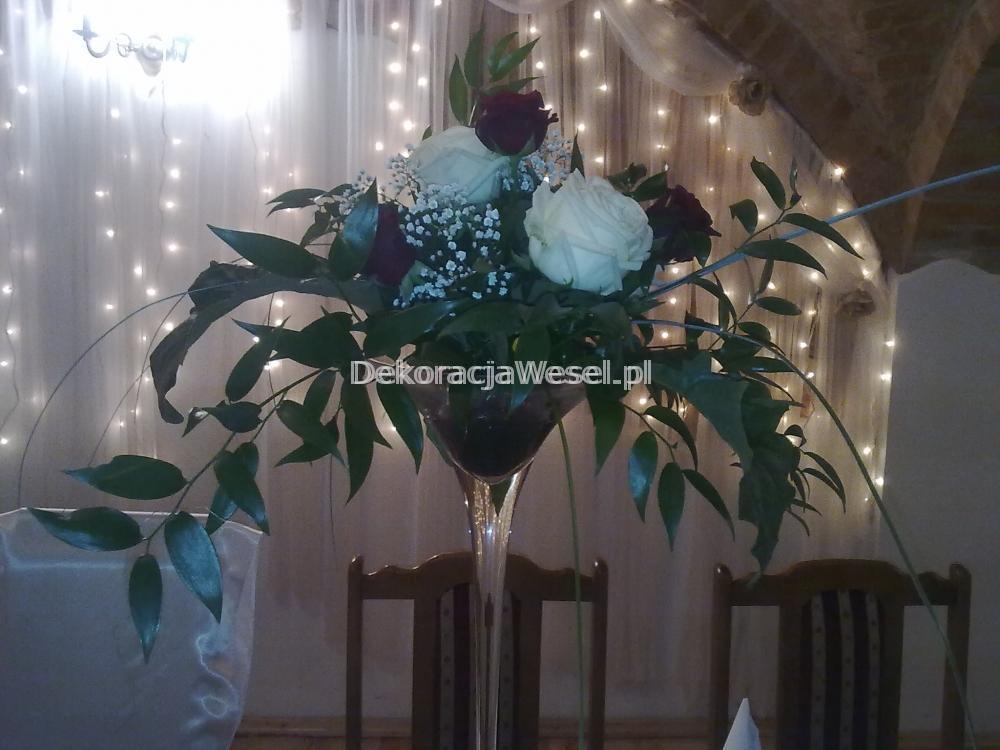 Dekoracja stołu weselnego - 107