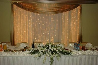 Dekoracja stołu weselnego - 108 400x266