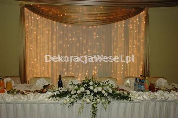 Dekoracja stołu weselnego - 108
