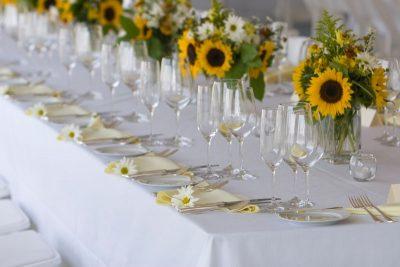 Dekoracja stołu weselnego - 109 400x267