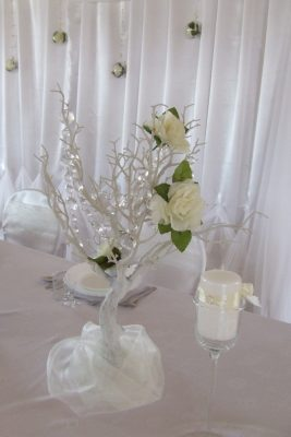 Dekoracja stołu weselnego - 110 267x400