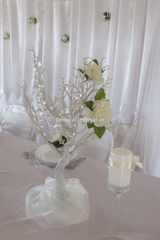 Dekoracja stołu weselnego - 110