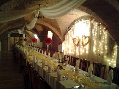 Dekoracja stołu weselnego - 111 400x300