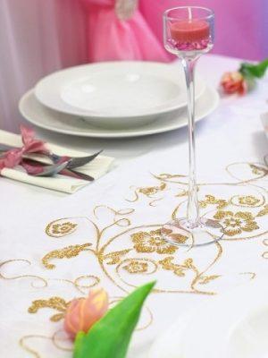 Dekoracja stołu weselnego - 112 300x400