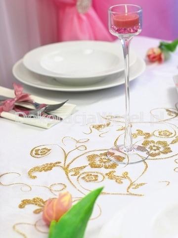 Dekoracja stołu weselnego - 112