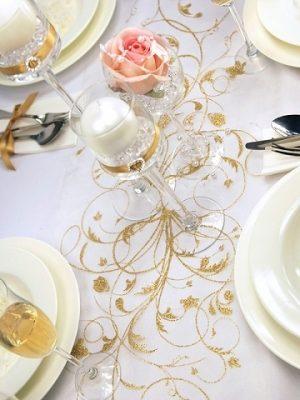 Dekoracja stołu weselnego - 113 300x400