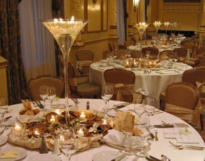 Dekoracja stołu weselnego - 114 400x314
