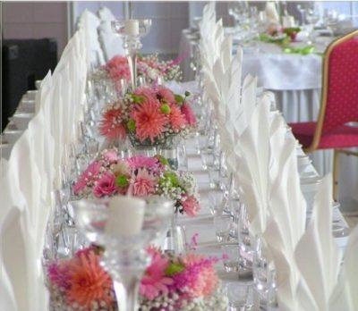 Dekoracja stołu weselnego - 115 400x348
