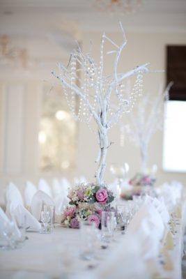 Dekoracja stołu weselnego - 116 267x400