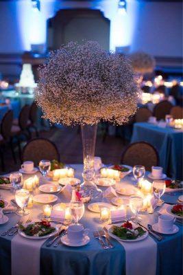 Dekoracja stołu weselnego - 118 267x400