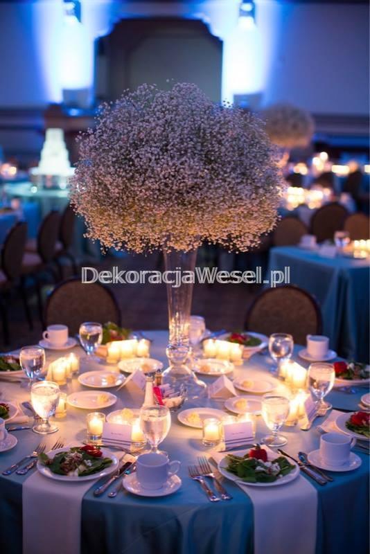 Dekoracja stołu weselnego - 118