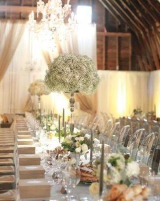 Dekoracja stołu weselnego - 119 320x400
