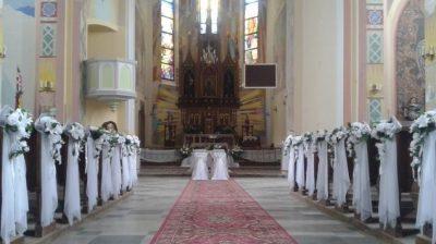 Dekoracja kościoła na ślub - Olbierzowice 1 e1491494136899 400x224