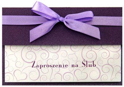 Zaproszenia PartyDeco - Zaproszenie na Ślub symbol ZP42 01 400x282