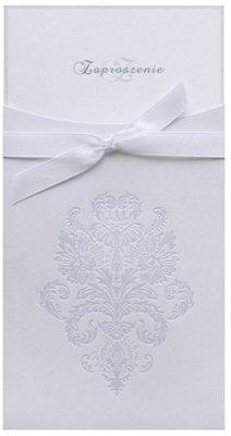 Zaproszenia PartyDeco - Zaproszenie na Ślub symbol zp44 01 212x400
