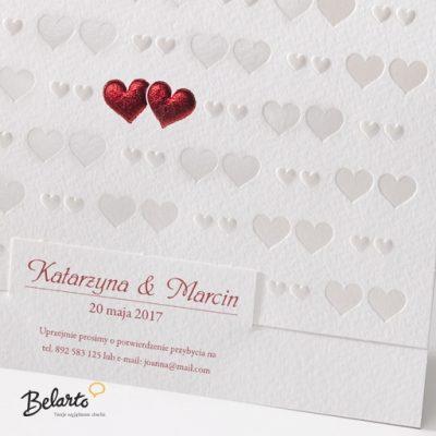 Zaproszenia Belarto - Zaproszenie na Slub symbol 723004 2 belarto 400x400