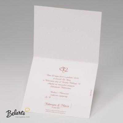 Zaproszenia Belarto - Zaproszenie na Slub symbol 723004 3 belarto 400x400