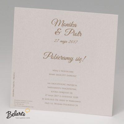 Zaproszenia Belarto - Zaproszenie na Slub symbol 723005 3 belarto 400x400