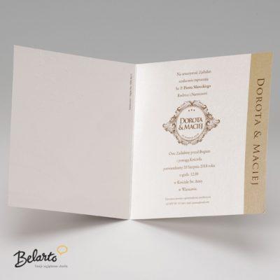 Zaproszenia Belarto - Zaproszenie na Slub symbol 723019 3 belarto 400x400