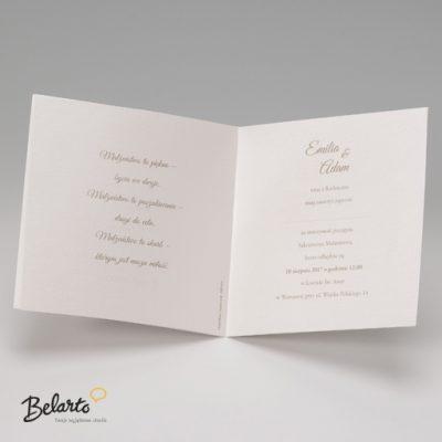 Zaproszenia Belarto - Zaproszenie na Slub symbol 723052 3 belarto 400x400