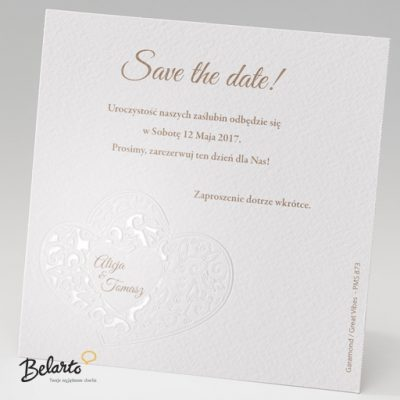 Zaproszenia Belarto - Zaproszenie na Slub symbol 723509 belarto 400x400