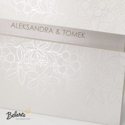 Zaproszenia Belarto - Zaproszenie na Slub symbol 724019 2 belarto 400x400