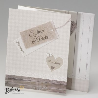 Zaproszenia Belarto - Zaproszenie na Slub symbol 724032 belarto 400x400