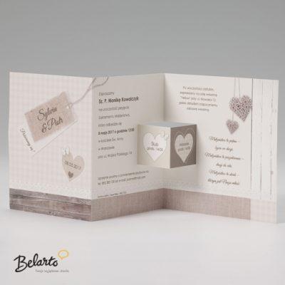 Zaproszenia Belarto - Zaproszenie na Slub symbol 724032 3 belarto 400x400