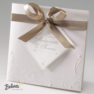 Zaproszenia Belarto - Zaproszenie na Slub symbol 724035 belarto 400x400