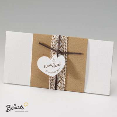Zaproszenia Belarto - Zaproszenie na Slub symbol 724036 K belarto 400x400