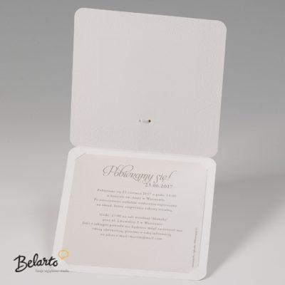 Zaproszenia Bella - Zaproszenie na Slub symbol 724040P 3 bella 400x400