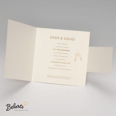 Zaproszenia Belarto - Zaproszenie na Slub symbol 724047 3 belarto 400x400