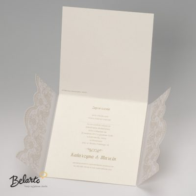 Zaproszenia Belarto - Zaproszenie na Slub symbol 724057 3 belarto 400x400