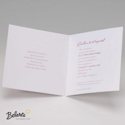 Zaproszenia Belarto - Zaproszenie na Slub symbol 724079 3 belarto 400x400