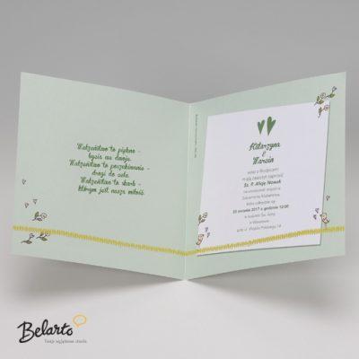 Zaproszenia Belarto - Zaproszenie na Slub symbol 724083 CD 3 belarto 400x400