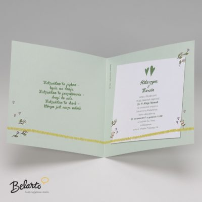 Zaproszenia Belarto - Zaproszenie na Slub symbol 724083 D 3 belarto 400x400