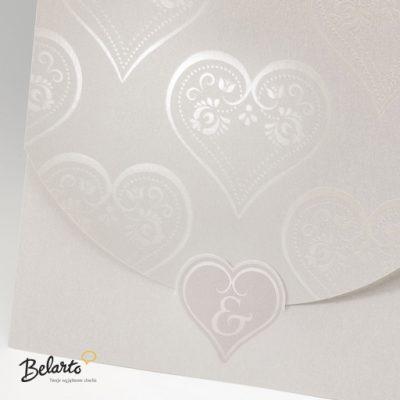 Zaproszenia Belarto - Zaproszenie na Slub symbol 724085P belarto 400x400