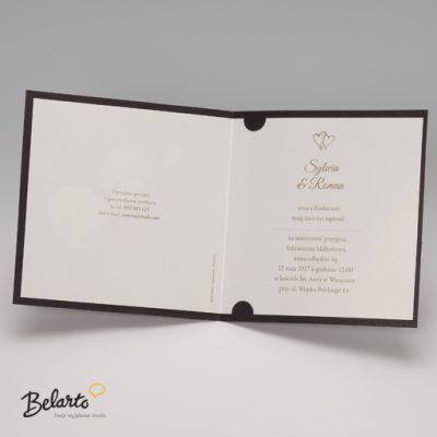 Zaproszenia Belarto - Zaproszenie na Slub symbol 724901P 3 belarto 400x400