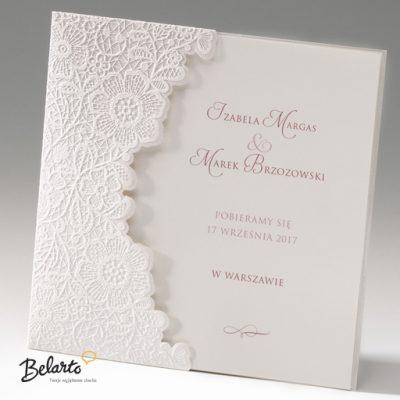 Zaproszenia Bella - Zaproszenie na Slub symbol 725001P bella 400x400