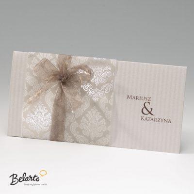 Zaproszenia Bella - Zaproszenie na Slub symbol 725002P bella 400x400