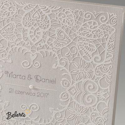 Zaproszenia Bella - Zaproszenie na Slub symbol 725003P 2 bella 400x400